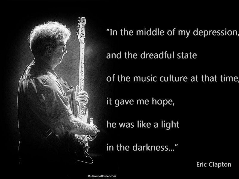 Eric Clapton on Prince