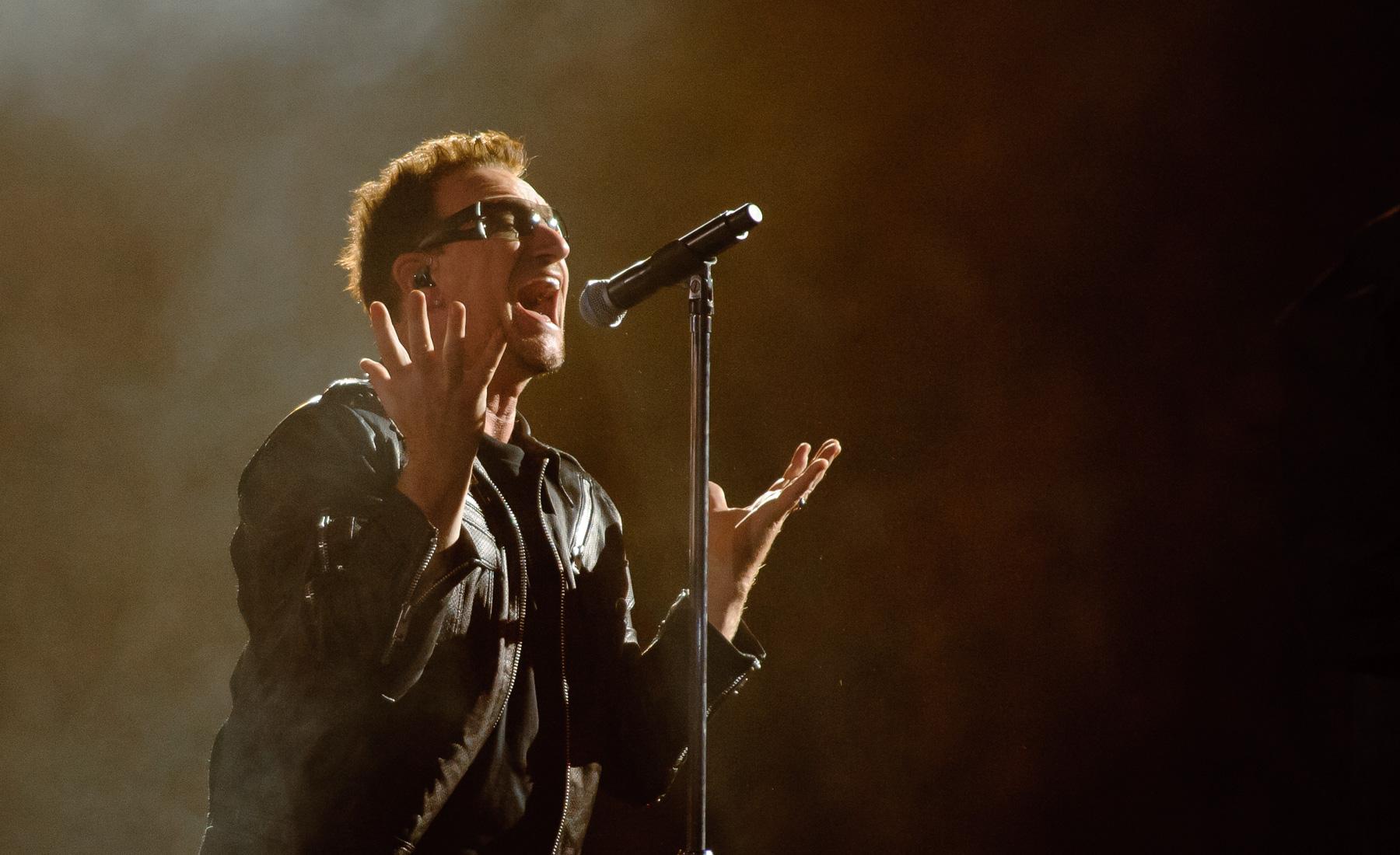 U2 Concert, Bono